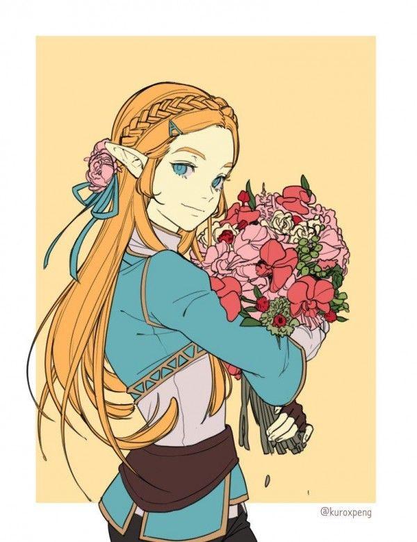 Zelda Thelegendofzelda Breathofthewild Dessin Kuroxpeng Jeuvideo