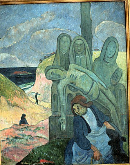 Paul Gauguin (1848-1903) was een Franse kunstschilder. De werken van Gauguin behoren tot het postimpressionisme. Zijn werk loopt vooruit op het ongebruikelijke kleurgebruik van de fauvisten en de expressionisten.