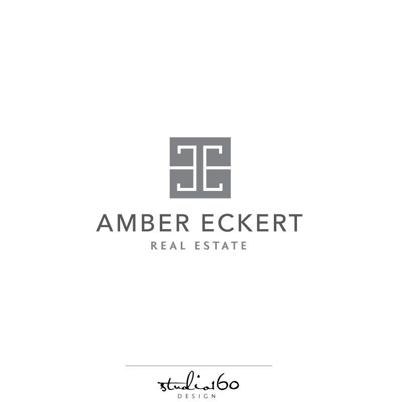 Real Estate Logo - Realtor Logo Design - Greek Key Logo - Monogram ...