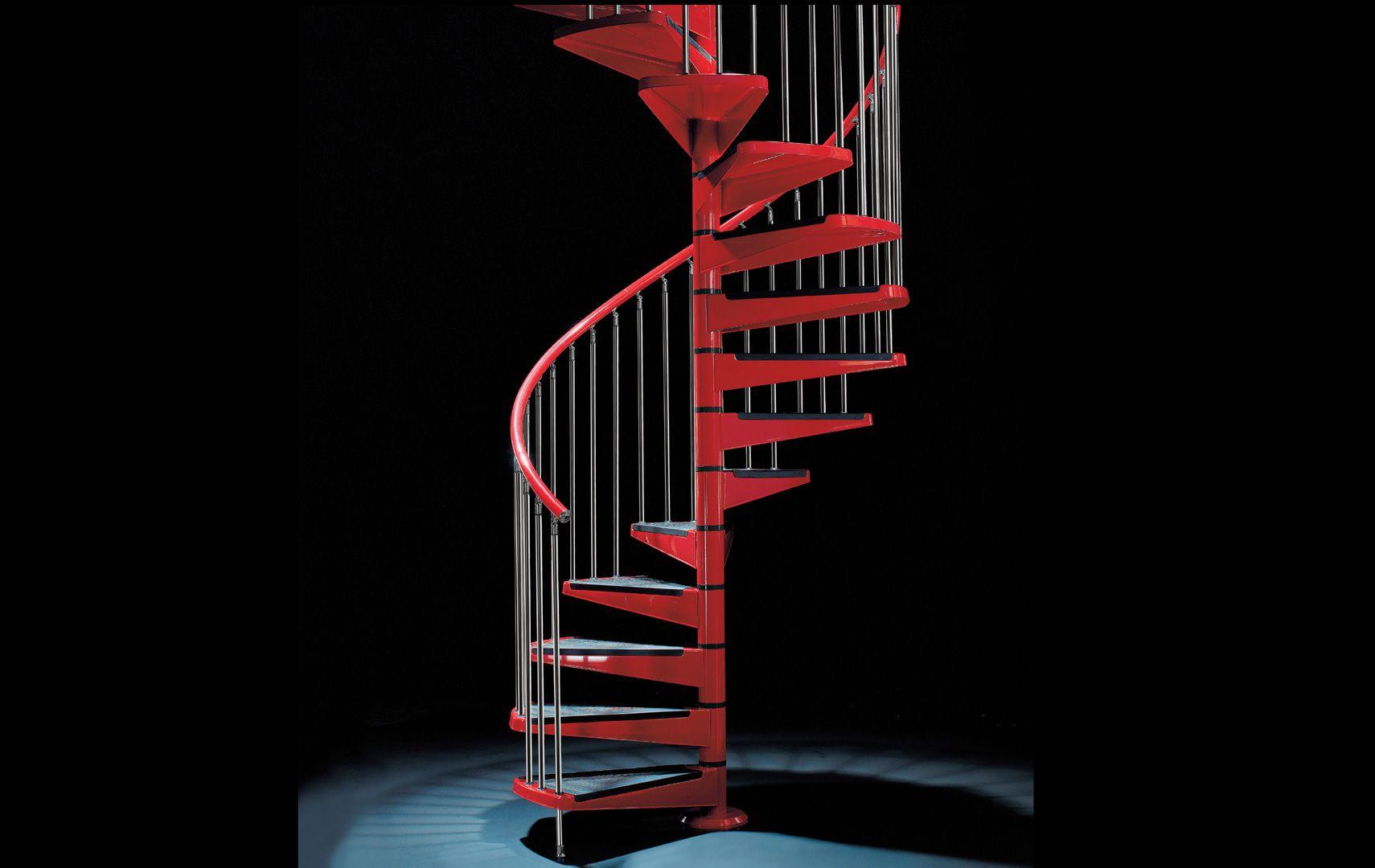 Red line, scale a giorno, scale modulari, scale a chiocciola
