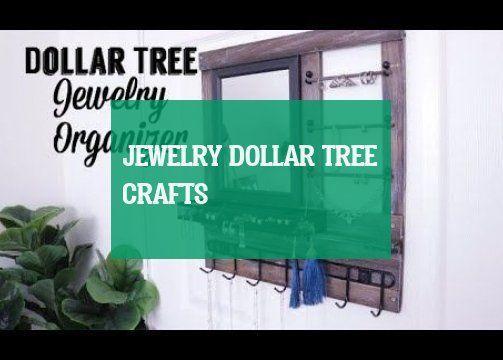 Jewelry dollar tree crafts