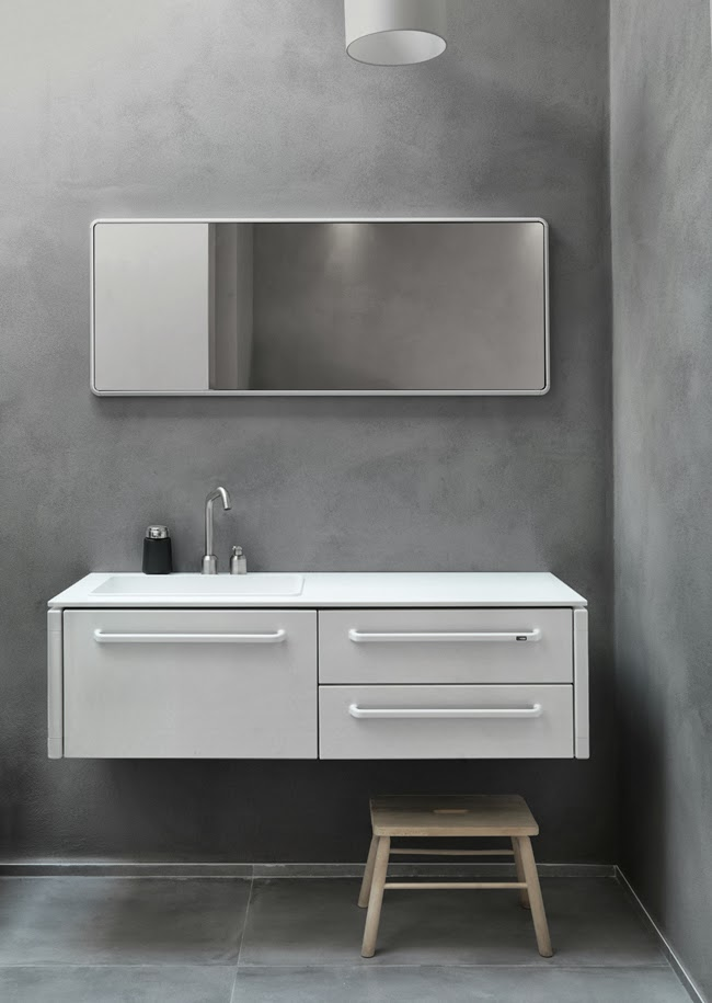 Novello Presents Its New Bathroom Furniture Collection: Vipp Bathroom Barefootstyling.com