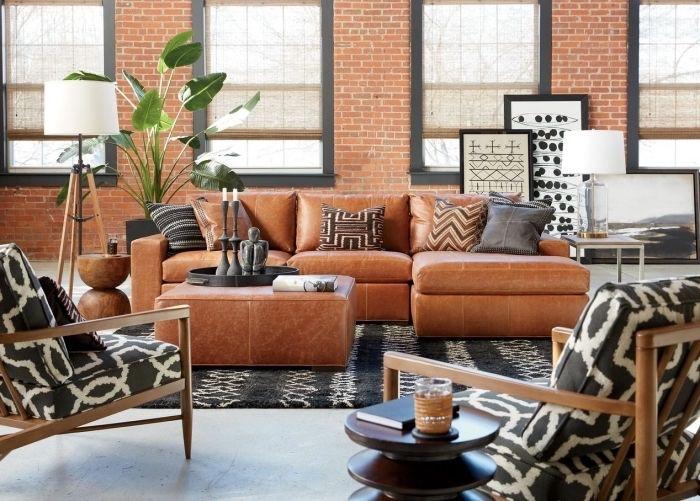 ▷ 1001 + ideen für moderne Wohnzimmer im 2018 Wohnzimmer Design - wohnzimmer rot orange