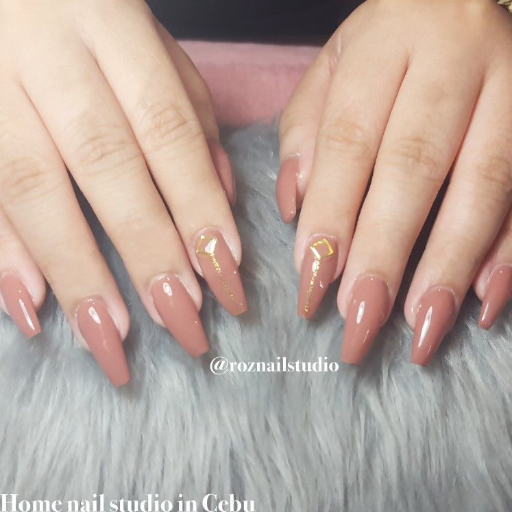 Pin By Roz Nail Studio Cebu On My Work Nails Beauty
