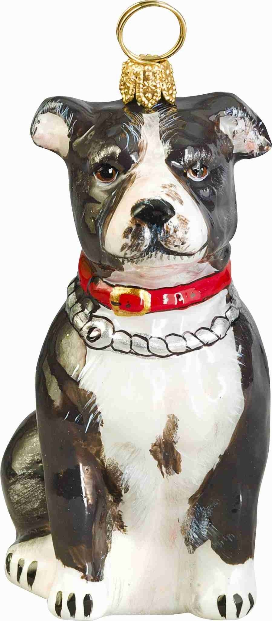 Pitbull Christmas Ornament.Pin On Animals And Pets