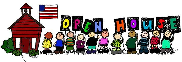Open House For The Month Of January Put Your Programs On Display School Housesnursery