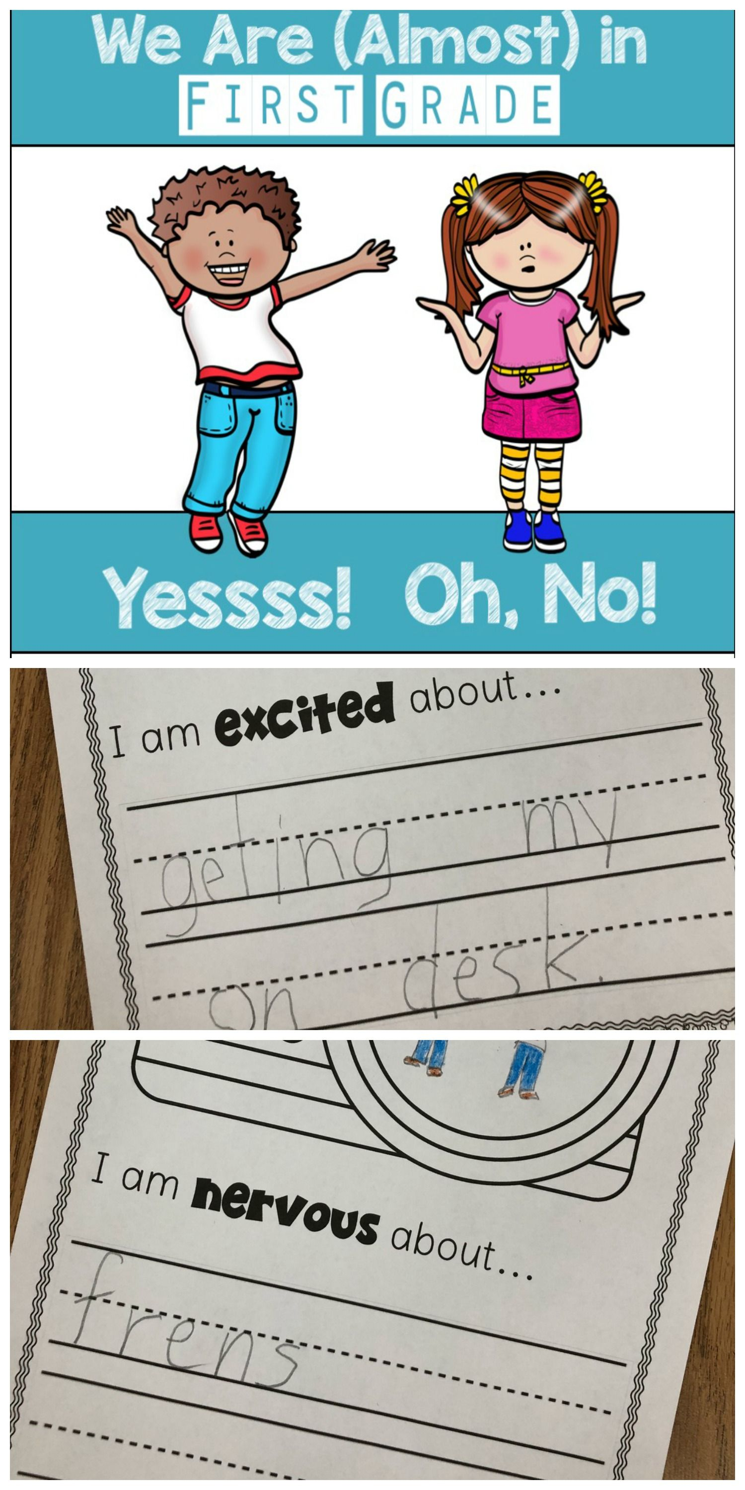 We Are Almost In First Grade