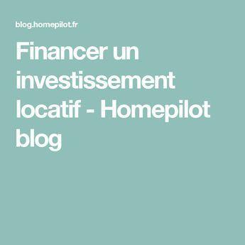 Options pour financer un investissement