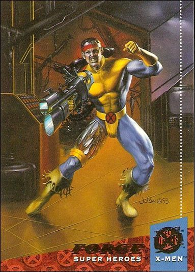 1994 Fleer Ultra X Men 31 A Jan 1994 Trading Card By Fleer Julie Bell Comic Books X Men