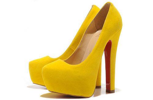 Christian Louboutin 16CM Heels Lemon Yellow Pump Platform Daffodile http://www.platformlouboutins.com/Christian-Louboutin-16CM-Heels-Lemon-Yellow-Pump-Platform-Daffodile