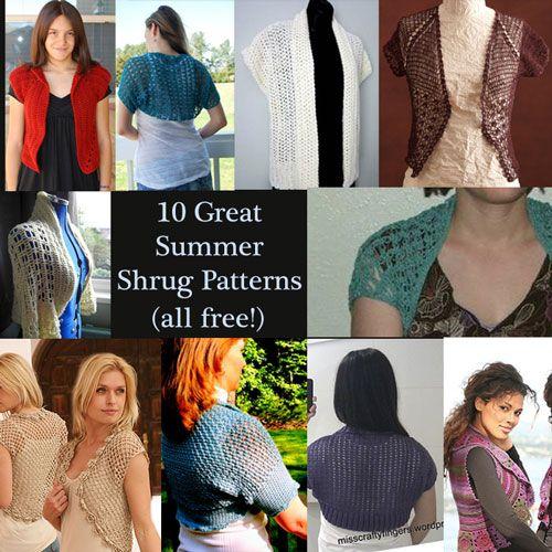 10 Wedding Ready Shrugs Vests And Boleros Free Crochet Crochet