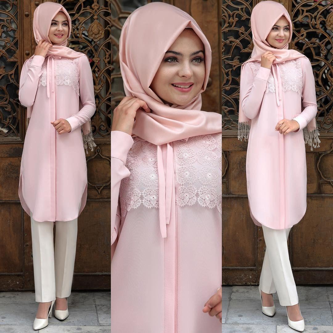 Tesettur Giyim Hijab Kiyafet Beautiful Elbise Gomlek Tesettur Muslimah Clothing Muslim Fashion Islamic Fashion