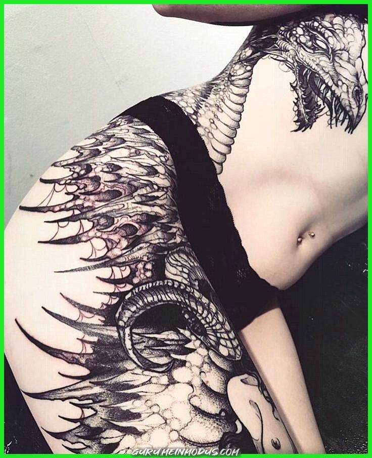 Photo of Creative and Great Gothic Dragon Tattoo # Gothic #House Dragons #Women