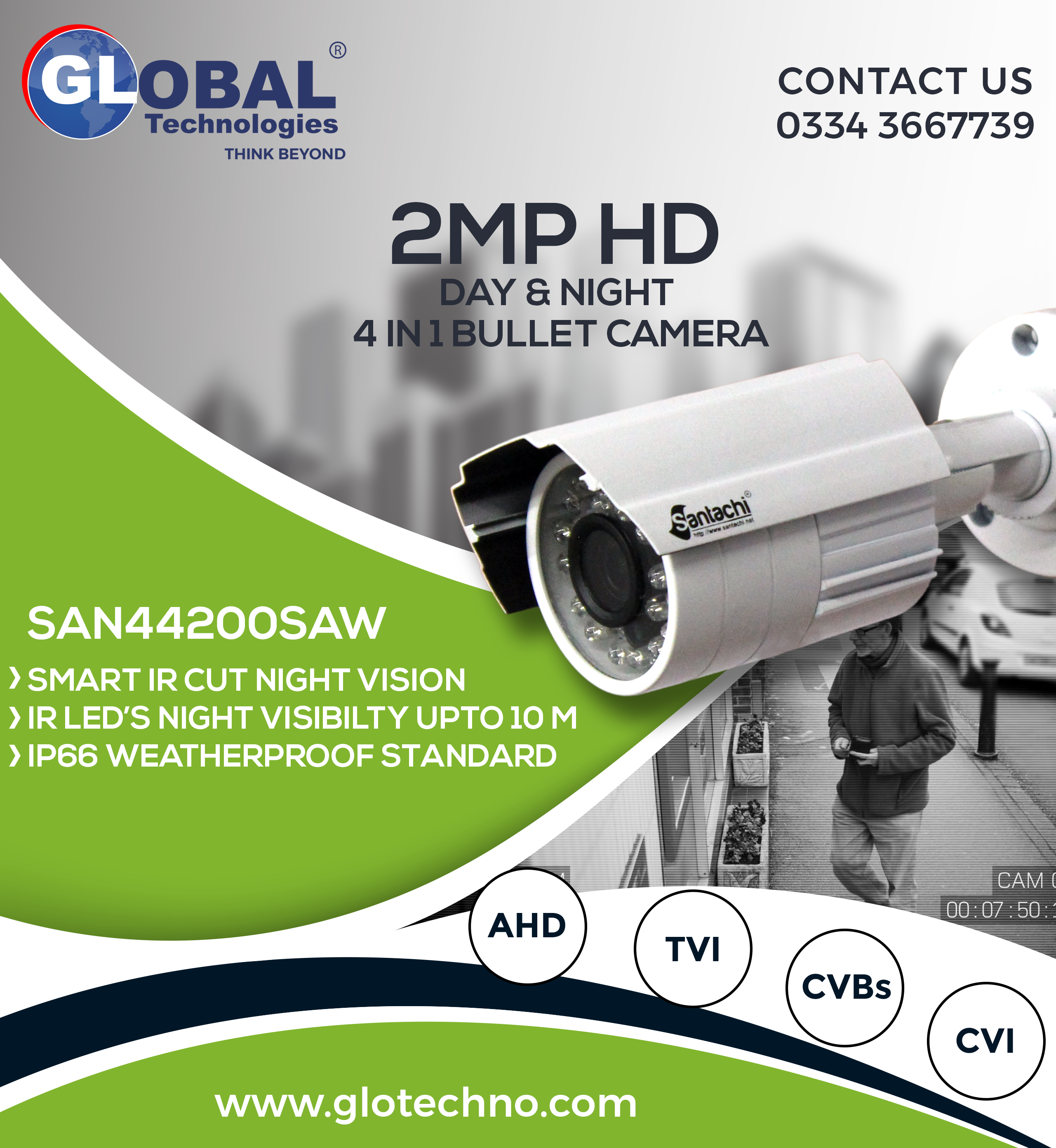 Saw44200 Is The Small Size And Integrated Design In The Bullet Shaped Cam Security Camera Installation Security Cameras For Home Wireless Home Security Systems