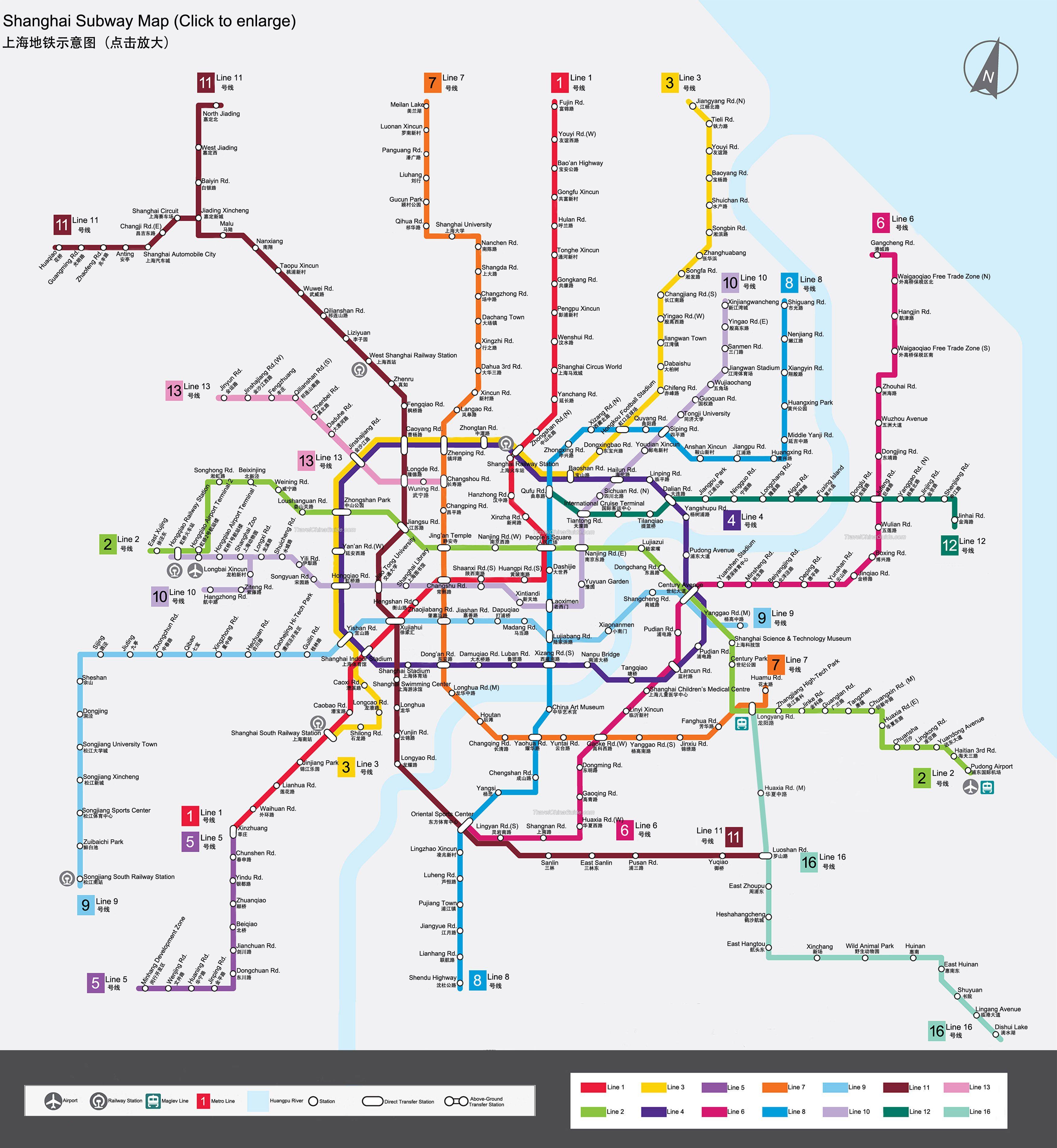 Subway Map Of Shanghai.Map Of China Shanghai Subway Lines Metro Station Subway Map Metro Map Beijing Subway Map