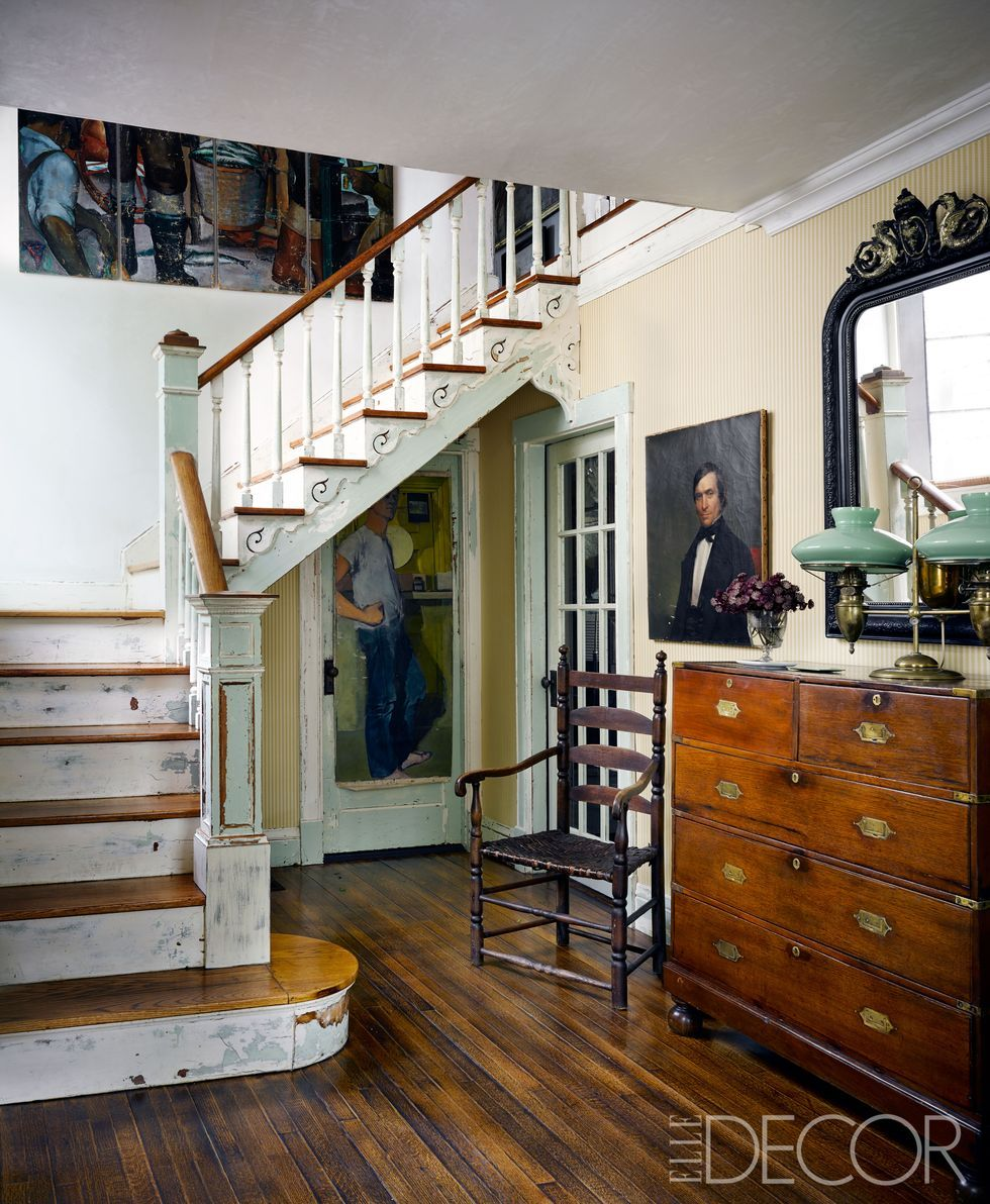 31 Stair Decor Ideas To Make Your Hallway Look Amazing: HOUSE TOUR: A Cape Cod Cottage Is Lovingly Restored With