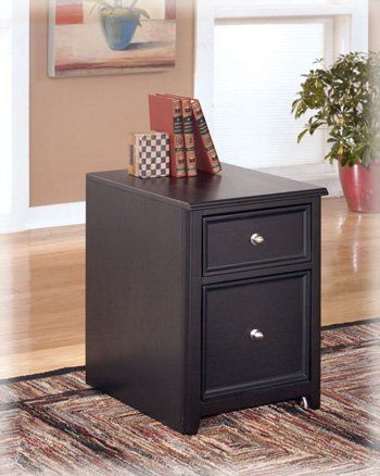 Home Office Small File Cabinet In Almost Black Famous Brand Furniture