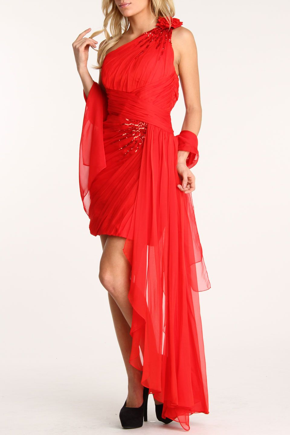 Colors Dress Mackenzie Dress In Red - Beyond the Rack
