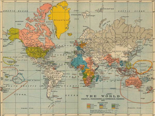 A map featuring colonial possessions and commercial trade routes world map large detailed physical cloth poster 1077 gumiabroncs Image collections