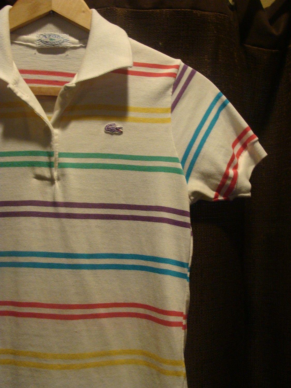 odebrane przystępna cena nowy produkt vintage lacoste polo. in 2019 | Lacoste polo shirts, Striped ...