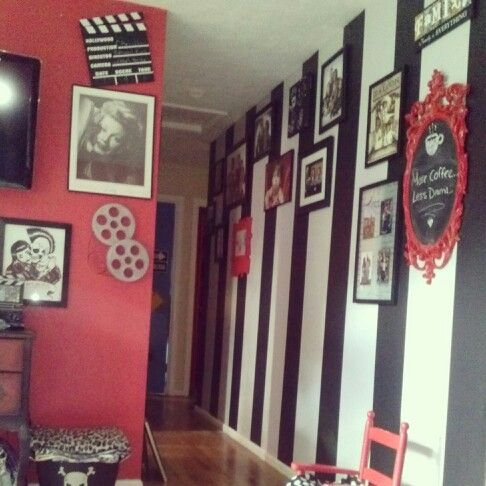 . Our little retro Rockabilly home   Rooms   Goth home decor