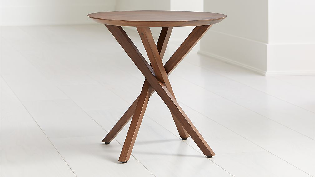 Apex Round End Table End Tables Table Pool Table Room
