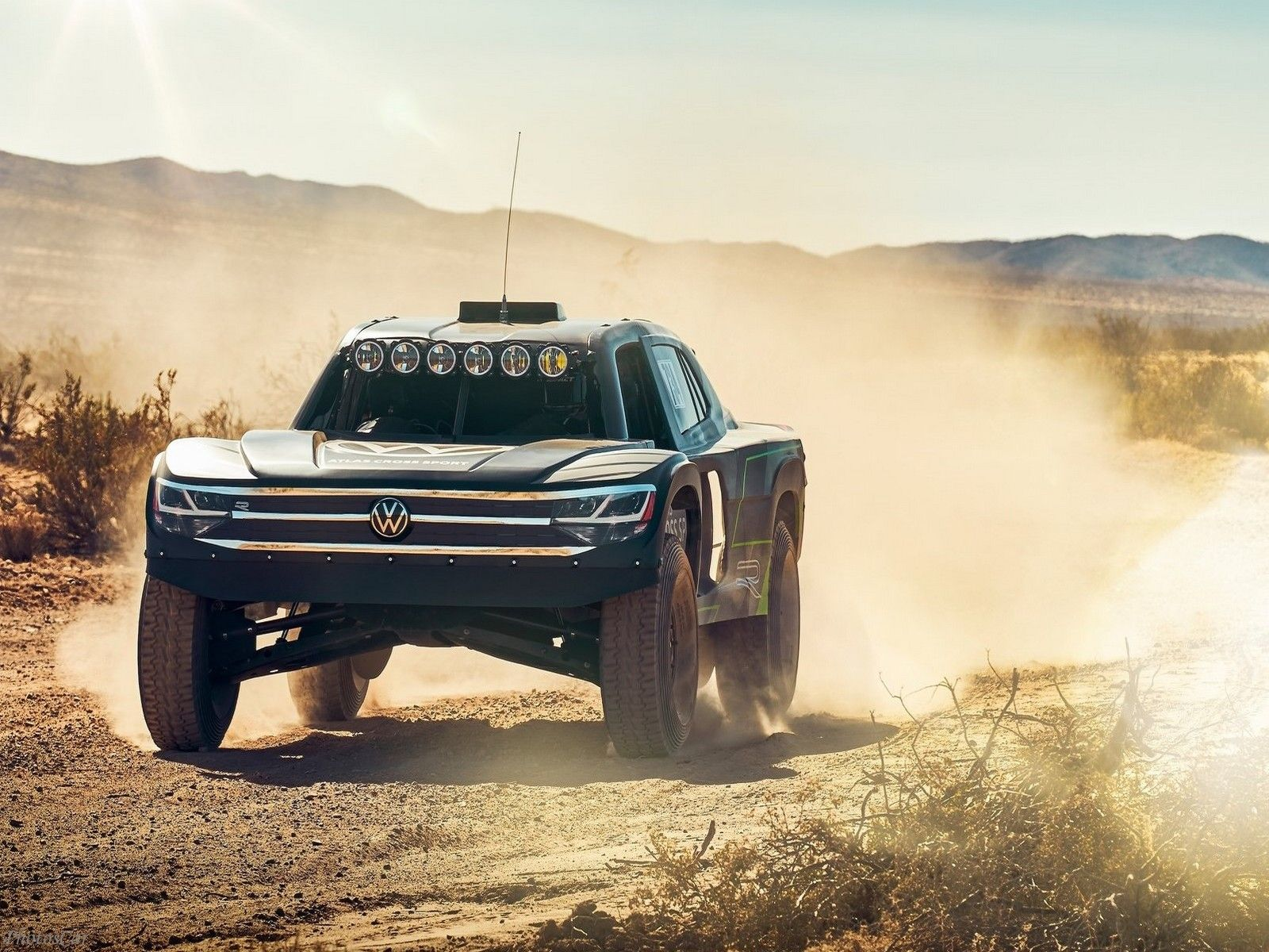 Volkswagen Atlas Cross Sport R Concept 2019 Prêt pour le