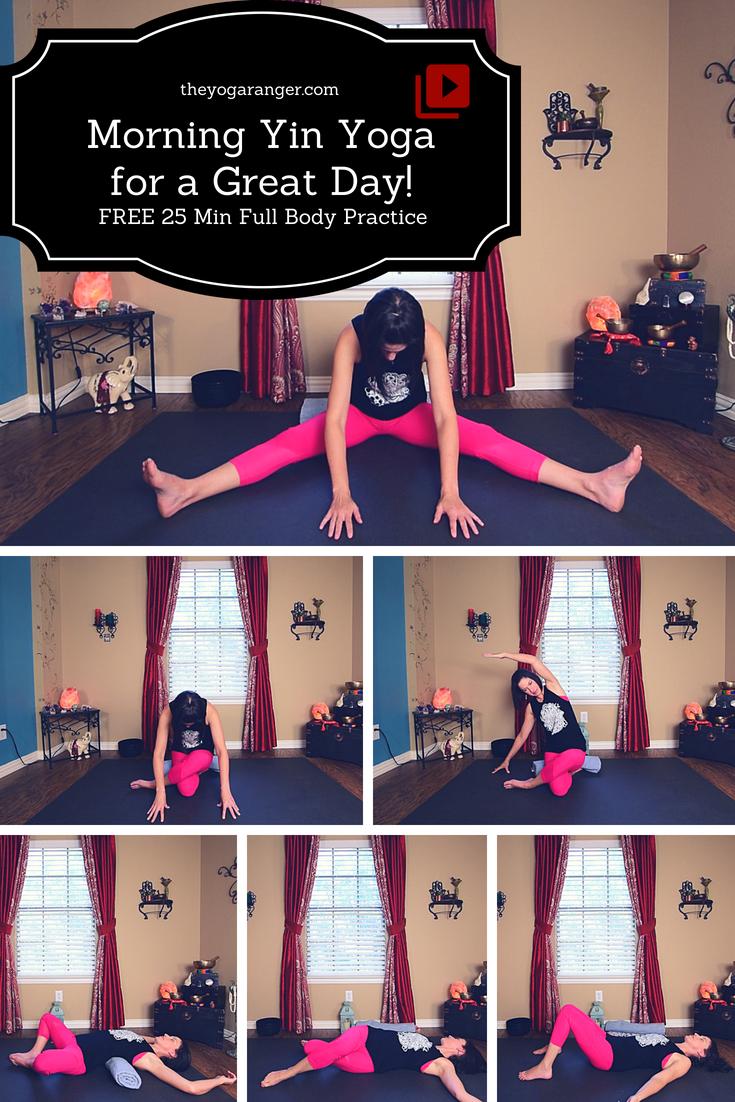 Yin Yoga Morning Sequence