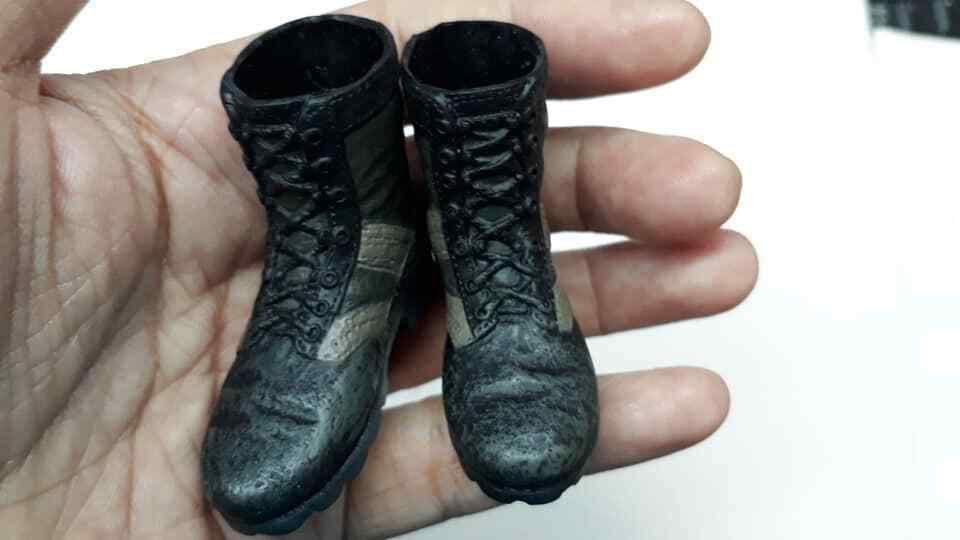 Vietnam War PMC Combat Boots Shoes 1//6 Scale Soldiers Accessories U.S