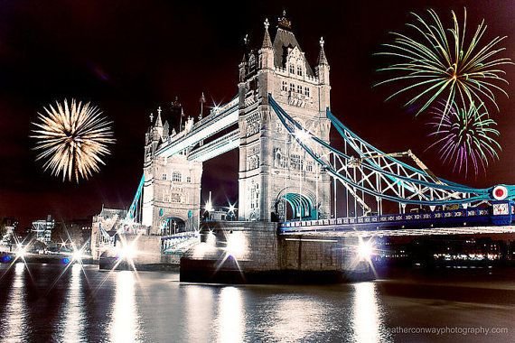 Image result for London city lights on New Year's Eve