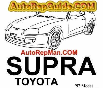 download free toyota supra 1997 repair manual maintenance and rh pinterest com 1997 Toyota Supra Twin Turbo 2002 Toyota Supra