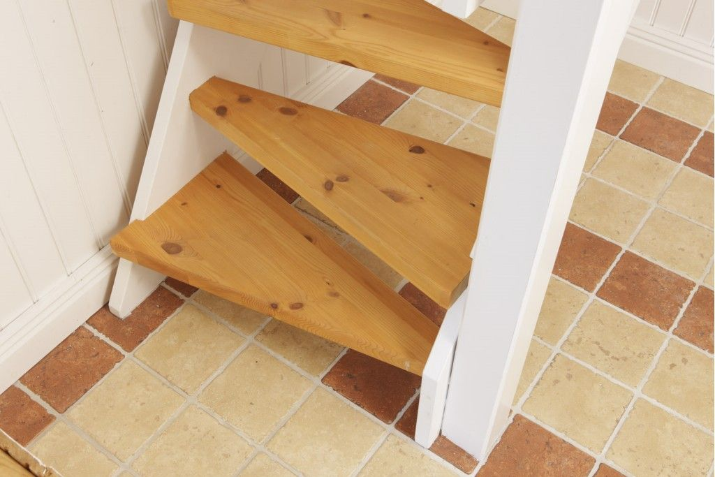 Best Photos Of Staircases For Small Spaces Wooden Staircase 400 x 300