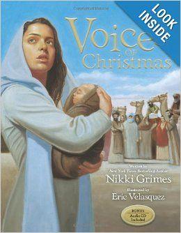 Voices of Christmas: Nikki Grimes, Eric Velasquez: 9780310711926: Amazon.com: Books
