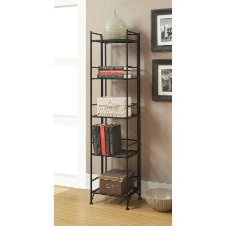 Convenience Concepts Designs2Go Metal Folding 5 Shelf