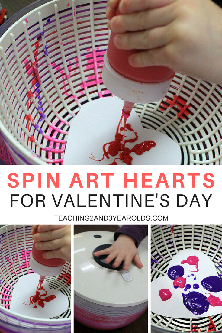 preschool art table. Spin Art Valentines For Kids Preschool Table