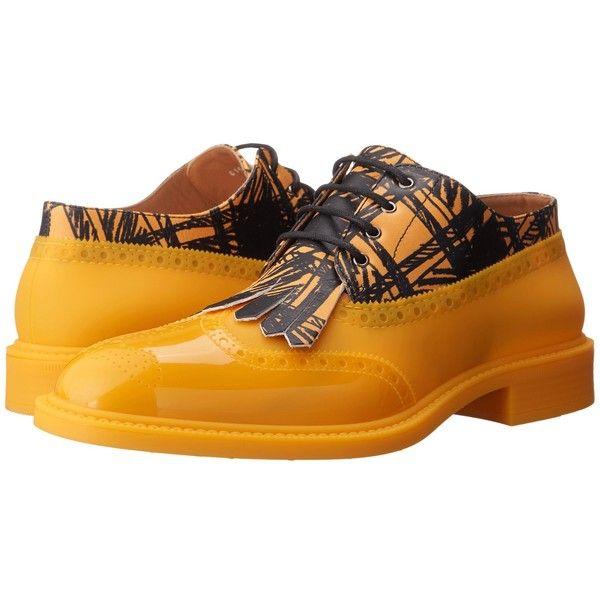 6c30b516ec4f1 Vivienne Westwood Lace-up Brogue (Yellow/Black) Men's Lace up casual ...