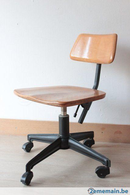 Vintage Chaise D Atelier Sedus A Vendre