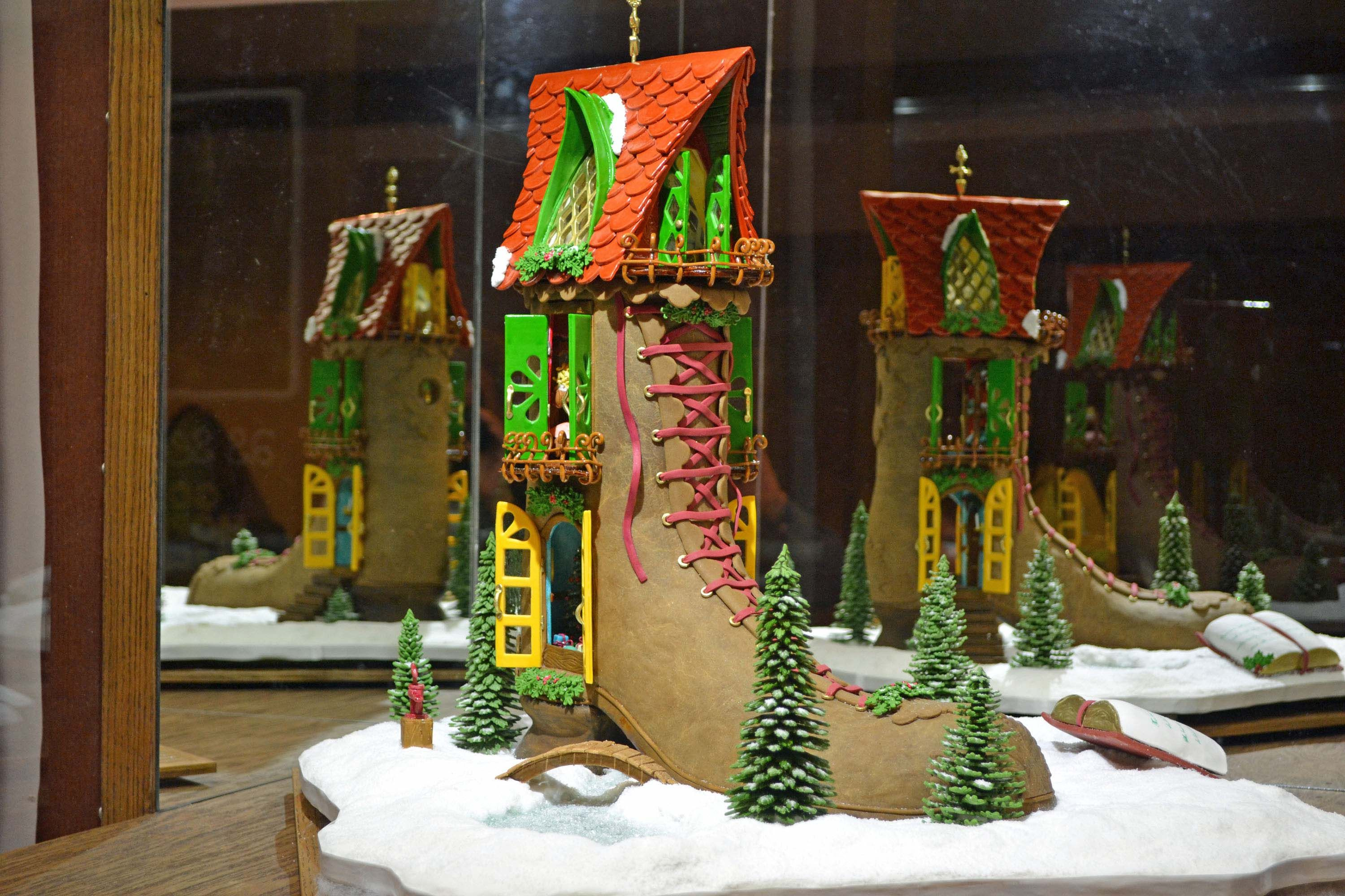 National Gingerbread House Competition | Simply Southern Baking. This doesn't look like gingerbread, but it is!