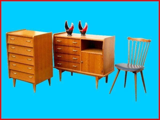 Meubles Vintage Scandinaves Mobilier De Salon Decoration Retro Meuble Vintage