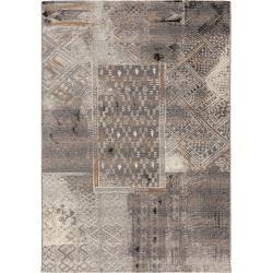 alfombra de interior y exterior benuta Artis antracita 200×285 cm – para balcón, terraza y jardín benuta