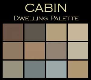 Harmony In Color A Paint Palette For Cabins Cabin Paint Colors Log Cabin Decor Cabin Decor