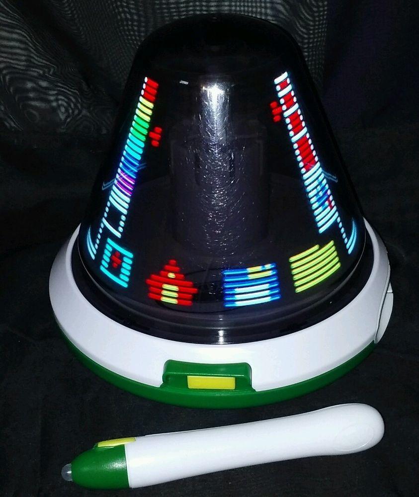 crayola digital light designer spinning light canvas dome stylus