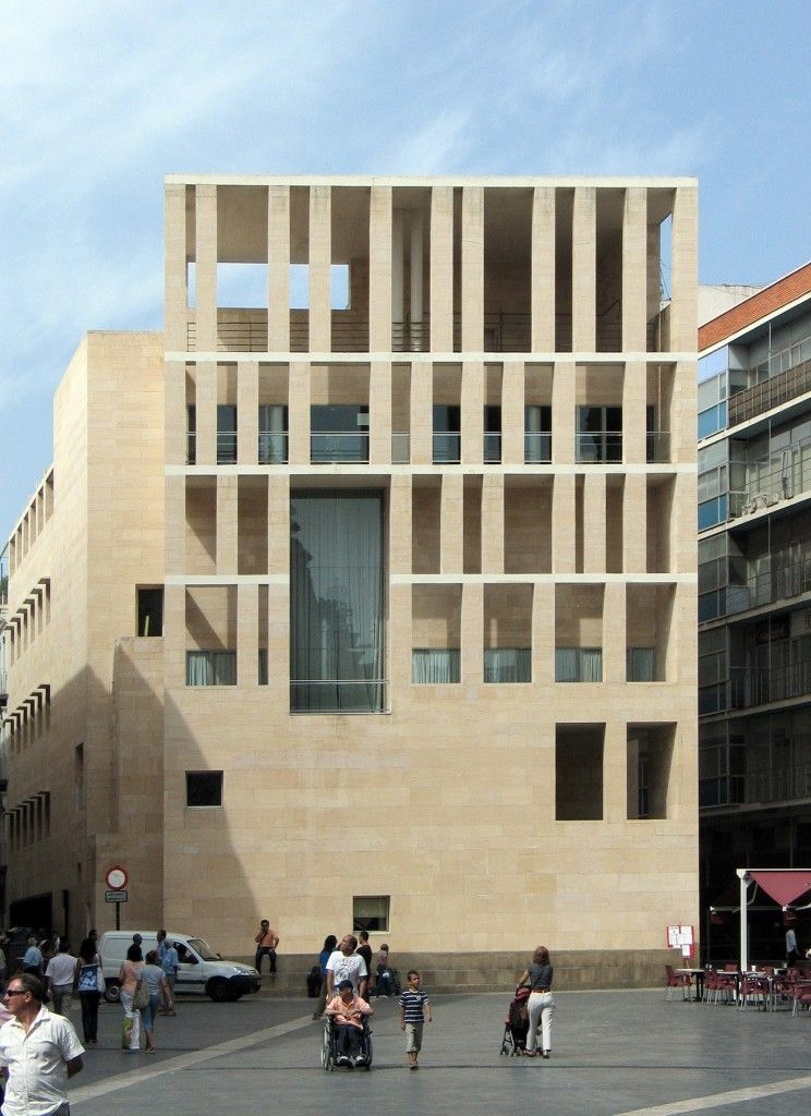 Quite possibly the most beautiful facade ever built...Raphael Moneo architect