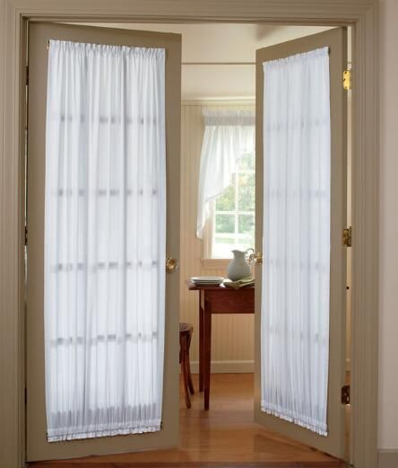 Weavers Cloth Door Panel Country Curtains My Office Curtains