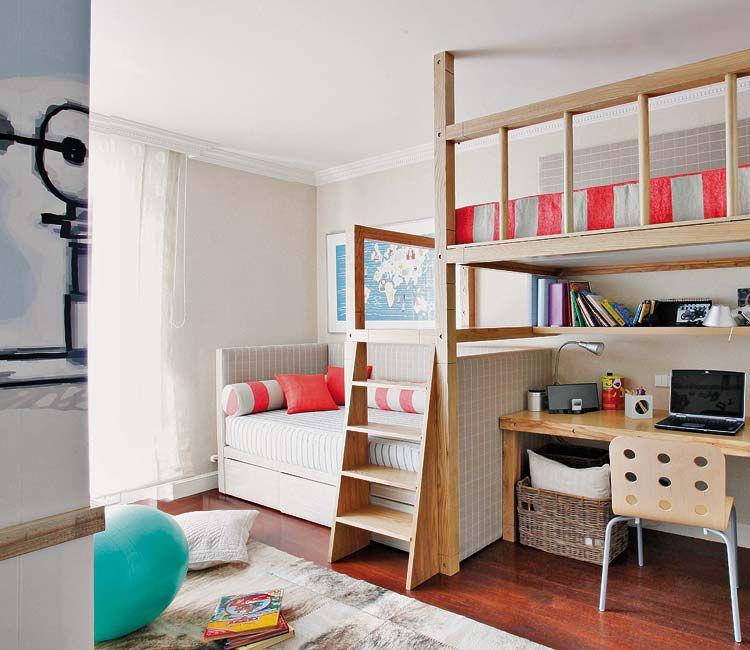 9 a 12 a os dormitorios infantiles micasa revista de for Decoracion habitacion nina de 6 anos