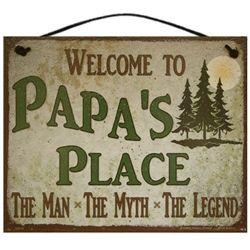 Papa man myth legend sign papa and gigis place pinterest grandpa the man myth legend sign sciox Gallery