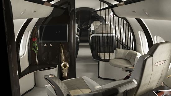 Gulfstream G650 Interior Bedroom
