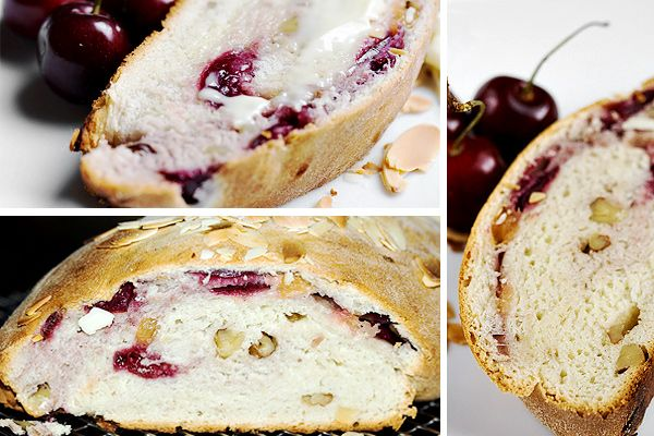 Fresh Cherry Yeast Bread | No yeast bread, Cherry bread ...