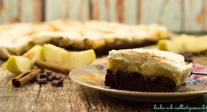 Brownie Apfelkuchen vom Blech - Powered by @ultimaterecipe