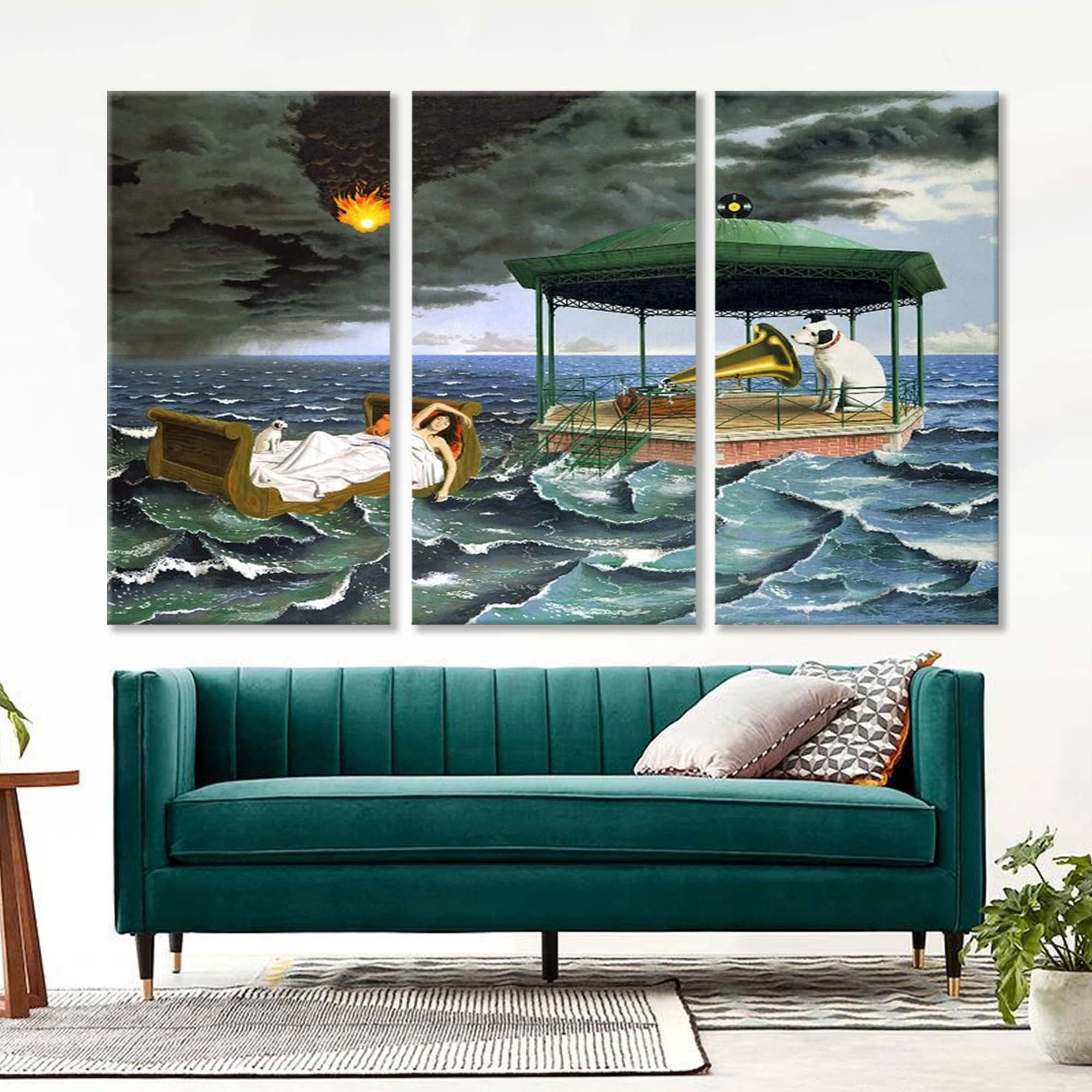 Itlyw Xai O32m Living room surrealsim realism